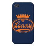 Corona de LaCrosse iPhone 4 Cárcasas