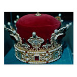 Corona de los derechos, Liechtenstein Postales