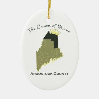 Corona de Maine Adorno