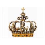 Corona de oro I Postal