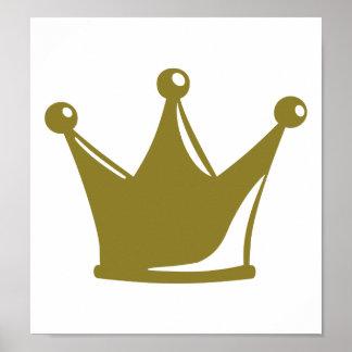 Corona de oro posters