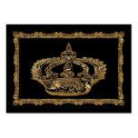 Corona de Royalee Catherine elegante Plantilla De Tarjeta De Visita