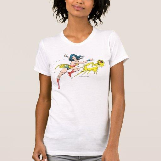 Corona de WomanThrows de la maravilla Camisetas