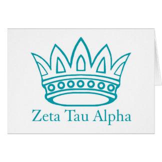 Corona de ZTA con ZTA Felicitación