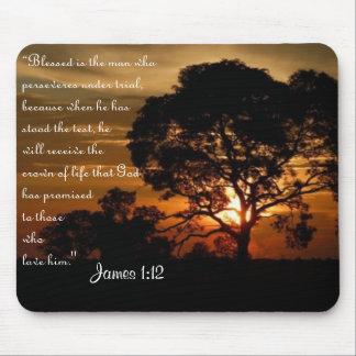 Corona del 1:12 de James de la vida Mousepads