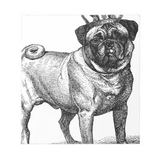 CORONA del color del cervatillo del perro del BARR Blocs De Papel