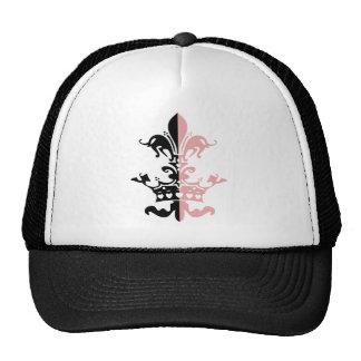Corona del corazón de Fleur - rosa Gorro De Camionero