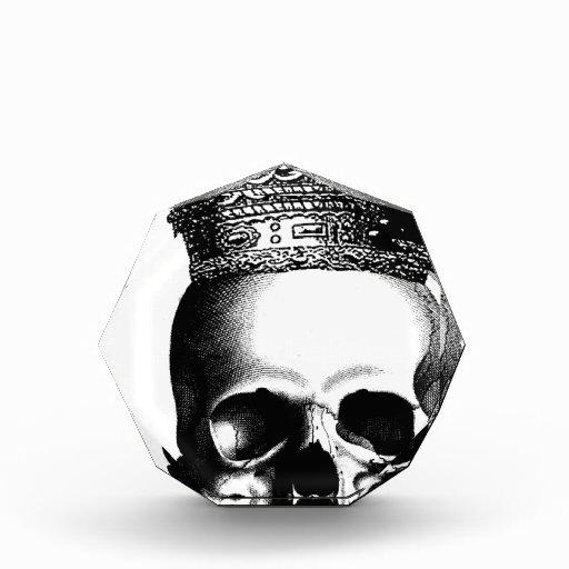 Corona del cráneo de Halloween real