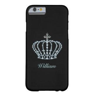 Corona del diamante funda de iPhone 6 barely there