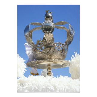 """Corona del Espíritu Santo Invitación 5"""" X 7"""""""