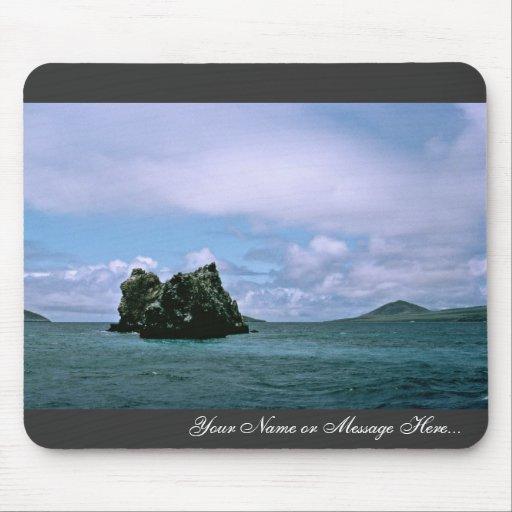 Corona del filón de las espinas, las Islas Galápag Alfombrilla De Ratones