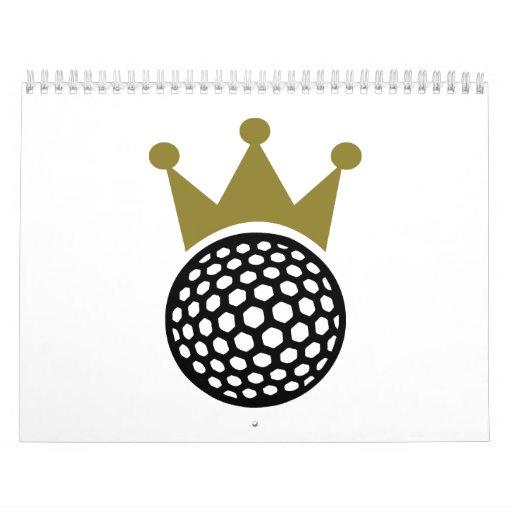 Corona del golf calendario