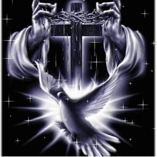 Corona del Jesucristo de espinas y de la paloma Fotoescultura Vertical