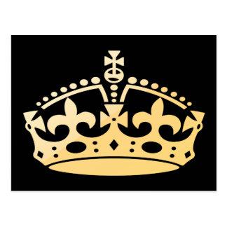 Corona del jubileo de Creamsicle Postal