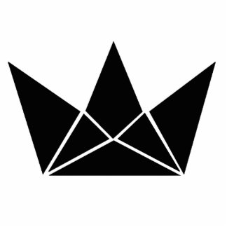 Corona del juego del rey pin fotoescultura