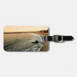Corona del mar bag tag