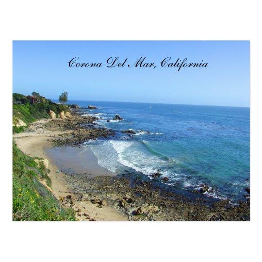 Corona Del Mar, Beach, California Coast, Postcard