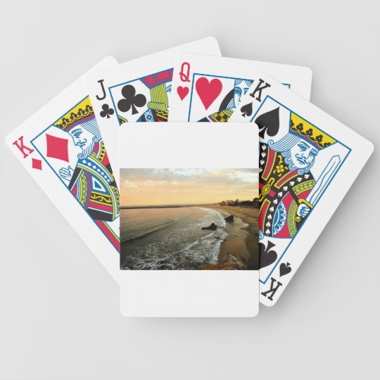 Corona del mar bicycle playing cards