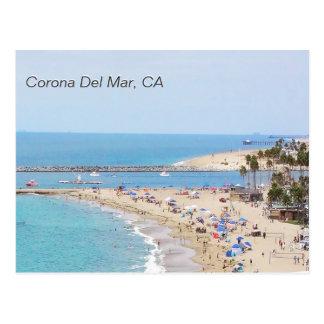 Corona Del Mar, CA Postcard