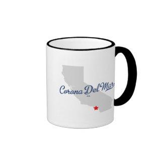 Corona Del Mar California CA Shirt Mug