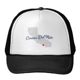 Corona Del Mar California CA Shirt Trucker Hat