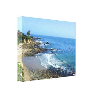 Corona Del Mar California Canvas Gallery Wrap Canvas