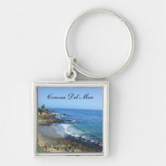 Corona Del Mar California Keychain