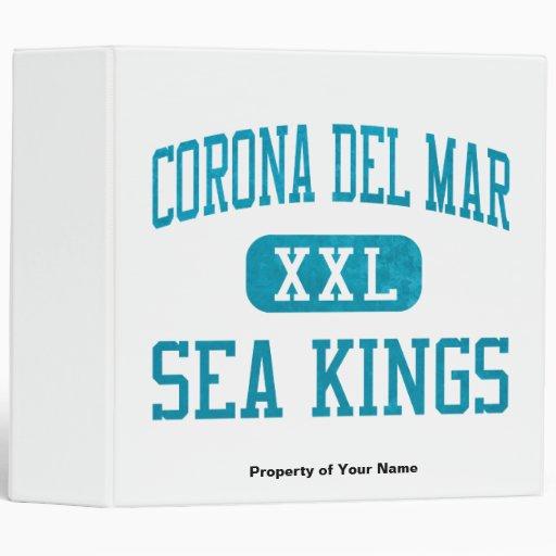 Corona del Mar Sea Kings Athletics 3 Ring Binders