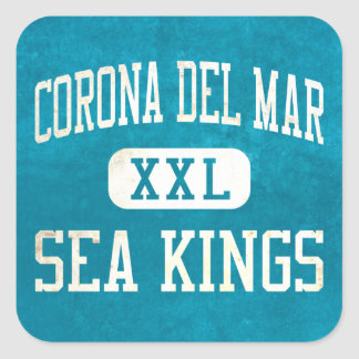 Corona del Mar Sea Kings Athletics Stickers