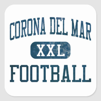 Corona del Mar Sea Kings Football Sticker