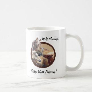 Corona del padre que adora taza de café