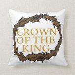 Corona del rey cojin