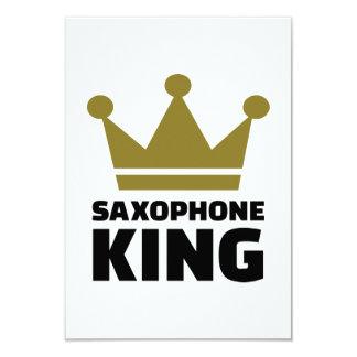 Corona del rey del saxofón comunicados