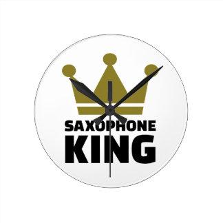 Corona del rey del saxofón relojes