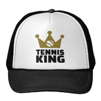 Corona del rey del tenis gorras