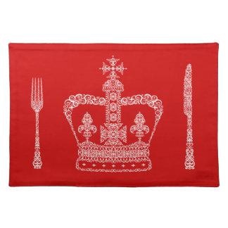 Corona del rey o de la reina mantel