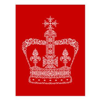 Corona del rey o de la reina postal