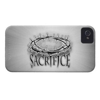 Corona del sacrificio del diseño de las espinas iPhone 4 Case-Mate protector