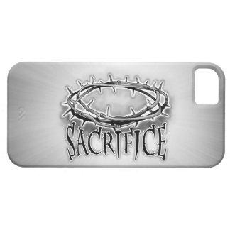 Corona del sacrificio del diseño de las espinas iPhone 5 carcasa