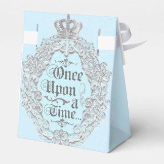 Corona del vintage del cuento de hadas una vez cajas para regalos