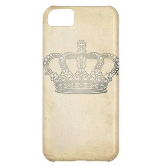 Corona del vintage funda para iPhone 5C