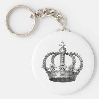Corona del vintage llaveros