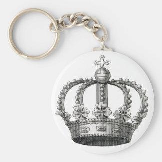 Corona del vintage llavero