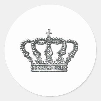 Corona Etiqueta Redonda
