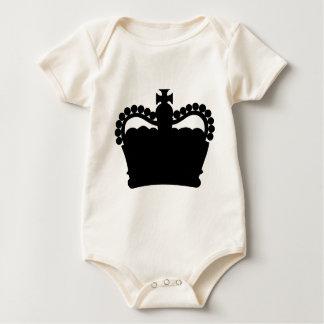Corona - familia real de rey Queen Royalty Trajes De Bebé