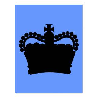 Corona - familia real de rey Queen Royalty Postal