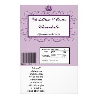 Corona grande/Swi de la púrpura real de la envoltu Tarjetones