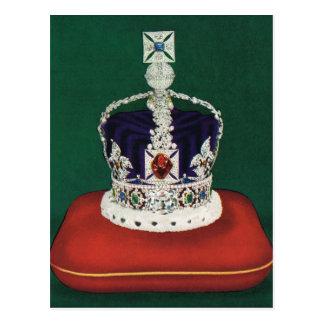 Corona imperial del estado de Inglaterra, Postales