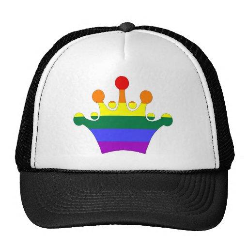 Corona imperial del orgullo de GLBT Gorros