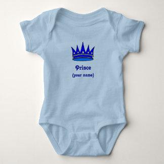 Corona infantil del príncipe de Personailzed) Playera